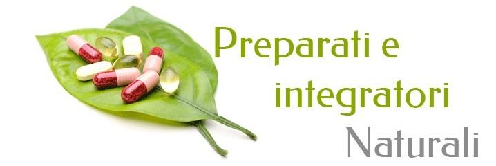 Preparati/integratori naturali
